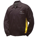 C4 Corvette 1984-1996 Yellow & Black Twill Jacket