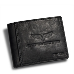 C6 Corvette 2005-2013 Genuine Leather Midway Traveler Wallet by Fossil