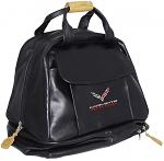 C7 Corvette 2014+ Racing Helmet / HANS Carrying Bag - Leather