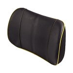 Genuine Leather Lumbar Pads w/ Accent Stitching