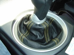 C5 Corvette 1997-2004 Genuine Leather Shift Boot w/ Quadruple Accent Stitching - Auto, Manual & C6 Shifter Fitment Options