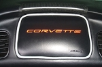 C5 Corvette 1997-2004 Genuine Leather Airbag Accent Piping