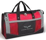 C6 Corvette 2005-2013 Red Flex Sport Duffle Bag