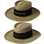 C3 C4 C5 C6 C7 Corvette 1968-2014+ Signature Straw Hat