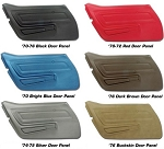 C3 Corvette 1970-1977 Door Panels - Basic & Standard