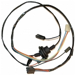 C3 Corvette 1976 Heater Wiring Harness For Car Without Air Conditioning