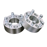 5-Lug Aluminum 25mm / 1 Inch Wheel Spacers - Pair - 5x4.75