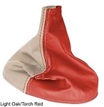 C3 Corvette 1977-1982 Two Tone Leather Shift Boot w/ Accent Stitching