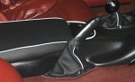 C5 Corvette 1997-2004 Perforated Leather Emergency Brake Boot