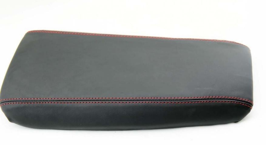 GREEN STITCHING REAL LEATHER ARMREST LID COVER FITS CORVETTE C5 1997-2004