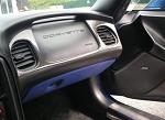 C5 Corvette 1997-2004 Leather Lower Dash Cover
