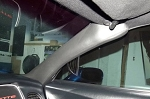 C5 Corvette 1997-2004 Leather A-Pillar Covers