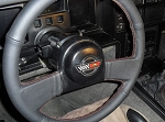 C4 Corvette 1984-1989 Leather Steering Wheel Cover