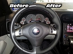 C6 Corvette 2005-2013 Leather Steering Wheel Cover