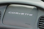 C5 Corvette 1997-2004 Dash Air Bag Lettering/Letters