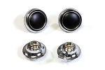 C3 Corvette 1969-1971 Radio Knob Set
