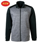 C7 Corvette 2014+ Full Zip Tonal Fleece Jacket