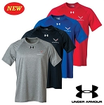 C7 Corvette 2014+ Under Armour Locker Tee w/ Cross Flags Emblem - Available in 4 Different Colors