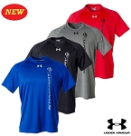 C7 Corvette Stingray 2014+ Under Armour Locker Tee w/ Vertical Logo & Script - Available in 4 Different Colors