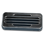 Billet Aluminum Classic Style Radio Cover - Multiple Finishes Available