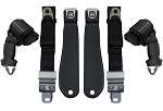 C3 Corvette 1970-1971 OE-Style Lap Belt w/ Shoulder Belt - Pair