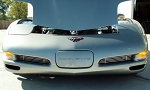 C5 Corvette 1997-2004 Billet Fog Light Grilles