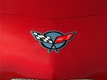 Corvette Emblem Inserts 8Pc - Front and Rear 1997-2004 C5 & Z06