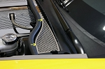 C6 Corvette Base / Grand Sport 2008-2013 Wiper Cowl Cover - Perforated - 2Pc
