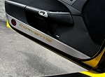 Corvette C6 05-13 Stainless Door Guards w/ Carbon Fiber Inlays