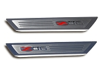 C6 Corvette 2006-2013 Doorsills Executive Series - Z06 Logo Inlay