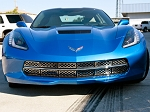 C7 Corvette Stingray 2014+ Front Grille Stainless Overlay Polished