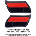 C3 Corvette 1978-1982 Two-Tone Resto-Mod Vinyl Door Panels