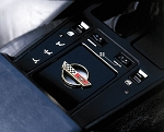 C4 Corvette 1984-1989 Console Opening Cover with Gold Emblem