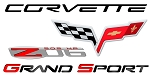 C6 Corvette 2005-2013 Full Size Wall Decals