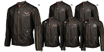 C3 C4 C5 C6 Corvette 1968-2013 Featherweight Leather Jacket - Long