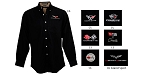 C3 C4 C5 C6 C7 Corvette 1968-2014+ Mens Business Advantage Twill Shirt