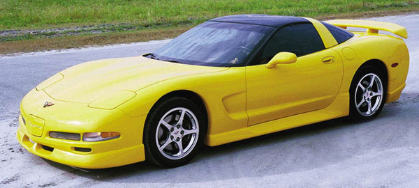 C5 Corvette 1997 2004 C5r Racing Body Kit Corvette Mods