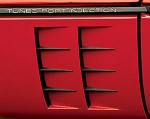 C4 Corvette 1984-1990 Custom Side Port Louvers