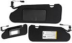 C6 Corvette 2005-2013 Sun Visors w/ Opener Options