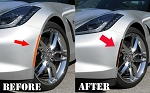 C7 Corvette Stingray/Z06/Grand Sport 2014+ Complete Blackout Side Marker/Rear Reflector Overlay Kits