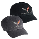C7 Corvette 2014-2019 Premium Garment Washed Cap