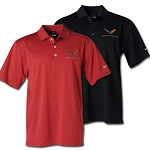 C7 Corvette 2014+ Nike Dri Fit Performance Polo