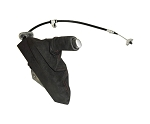 C6 Corvette 2005-2013 Suede Brake Lever Handle & Boot -  Stitching Color Options