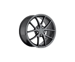 Corvette C6 05-13 Z06 Spyder Competition Grey Wheel Set 18x8.5/19x10
