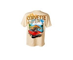 C3 C4 Corvette 1968-1996 Mid-Year Beach Club T-Shirt