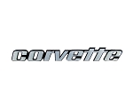 C3 Corvette 1976L-1979 Rear Bumper Metal Sign