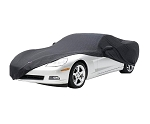 C6 Corvette 2005-2013 Designer Print Logo Stretch Car Cover