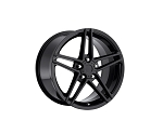 C4 C5 Corvette 1988-2004 Fitments C6  Z06 Style Wheels Gloss Black Set Of Four 17x9.5/18x10.5