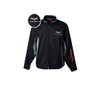 C5 C6 Corvette 1997-2013 Matrix Jacket - Crossed Flags Logo