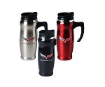 C6 Corvette 2005-2013 Stainless Steel Mug W/ Handle